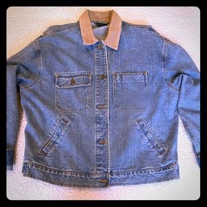 Vintage Ladies Ralph Lauren Denim Jean Jacket